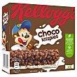 Barritas de cereales con chocolate Paquete 6 barritas x 20 g Choco Krispies Kellogg's