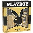 Pack vip colonia (vaporizador 60 ml) + desodorante (spray 150 ml) Estuche 2 u  Playboy Fragrances