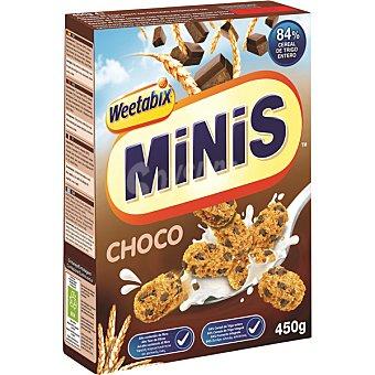 Minibix Cereales de chocolate Caja 450 g