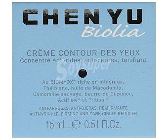 Chen yu Crema anti-arrugas y anti-ojeras, para todo tipo de pieles Biolia 15 ml