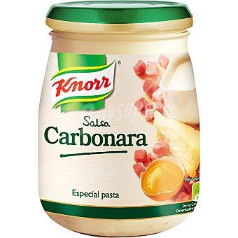 Knorr Salsa carbonara para pasta Frasco 255 g