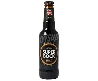 Superbock Cerveza negra portuguesa Botella de 33 centilitros