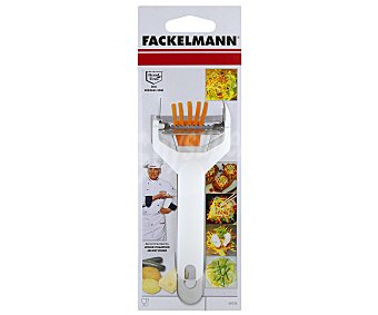Fackelmann Pelador cortador de verduras en juliana fackelmann