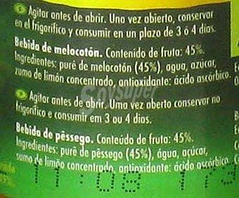 Granini Néctar de melocotón Pack 3 x 20 cl