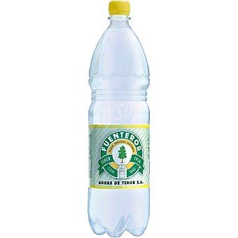 Fuenteror Agua mineral natural con gas botella 1,5 l 1,5 l