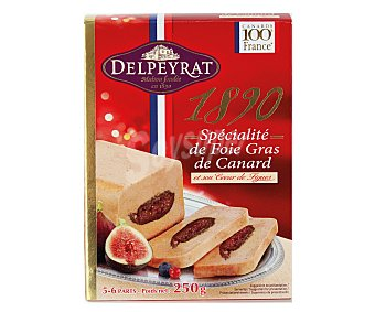 Delpeyrat Foie Gras de Pato con Higos 250 Gramos