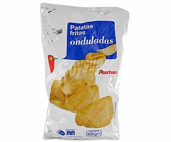 Auchan Patatas fritas onduladas Bolsa de 350 grs