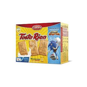 Cuétara Tosta rica galleta caja 570 gr 570 gr