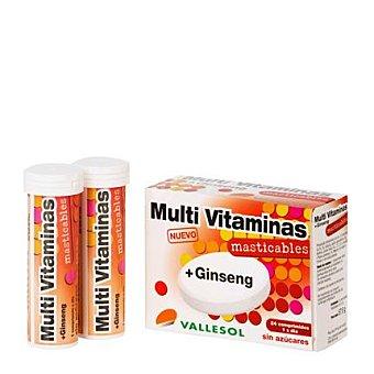 VALLESOL Multivitaminas + Ginseng 24 Comprimidos