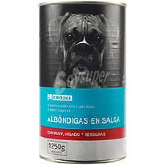EROSKI Friend Albondigas con buey-hígado-verduras Lata 1,250 kg