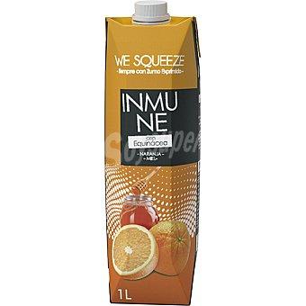 We squeeze inmune Zumo de naranja y miel con Equinácea Envase 1 l