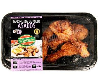 La Carloteña Jamoncitos de pollo asado 300 gramos