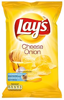 Lay's Patatas fritas Cheese & Onion Bolsa 170 g