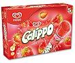 Calippo de fresa Pack 5x105 ml Frigo Calippo
