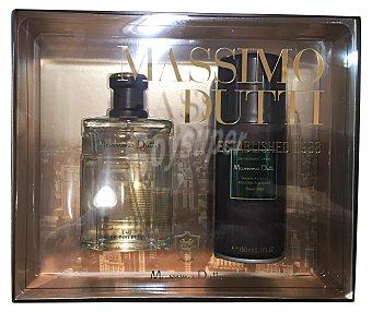 Massimo Dutti Lote hombre colonia 100 ml + desodorante 200 ml Colonia 100 ml + desodorante 200 ml
