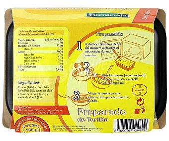 Fuentetaja Preparado de Tortilla con Cebolla 450 Gramos