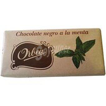 ORBEA Chocolate negro con menta 125 g
