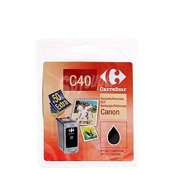 Carrefour Cartucho de Tinta CFC40 - Negro Cartucho de Tinta CFC40