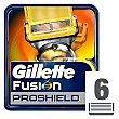 Recambio de cuchillas de 5 hojas para maquinillas de afeitar Blíster 6 u Gillette Fusion Proshield
