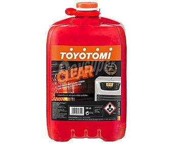 Toyotomi Combustible líquido para estufas portátiles Clear, , combustible puro Garrafa 20 litros