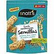 Snacks mediterráneas de sésamo bolsa 85 g Snatt's Grefusa