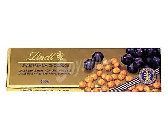 Lindt Chocolate Gama Oro con leche-avellanas-pasas Tableta 300 g