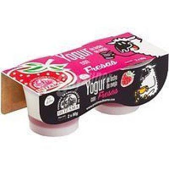 Ultzama Yogur de frutas-fresa Pack 2x80 g