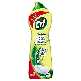 Cif Crema Limpiadora Limón 750ml