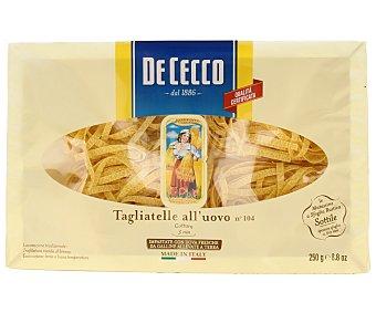 De Cecco Tagliatelle (pasta alimenticia al huevo) 250 g