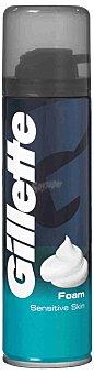 Gillette Espuma Clásica Piel Sensible 200 ml