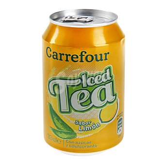 Carrefour Refresco de té al limón 33 cl