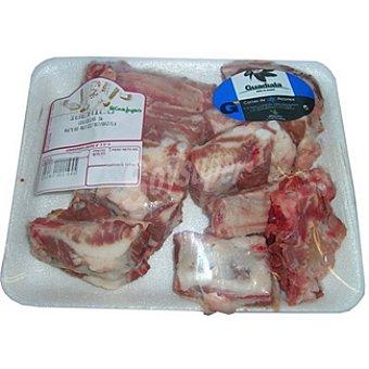 Guadiala Costillas frescas de cerdo ibérico peso aproximado Bandeja 500 g