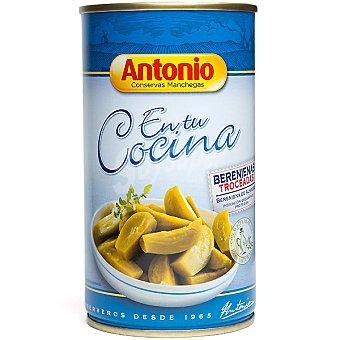 Antonio Berenjenas de Almagro troceadas con aceite de oliva 100% natural Lata 170 g