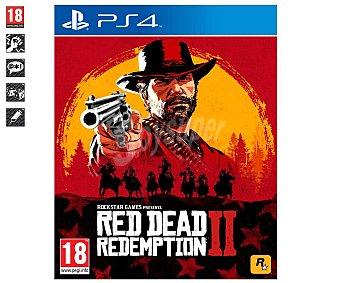 ROCKSTAR Videojuego Red Dead Redemption II para Playstation 4, género: acción, mundo abierto. pegi 18