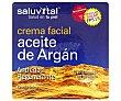 Crema facial antiedad y regenerante con aceite de argán 50 ml Saluvital