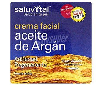 SALUVITAL Crema facial Aceite de Argán (antiedad, regenerante) 50ml