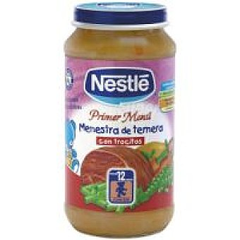 Nestlé Tarrito de ternera-verduras-legumbres Tarro 250 g