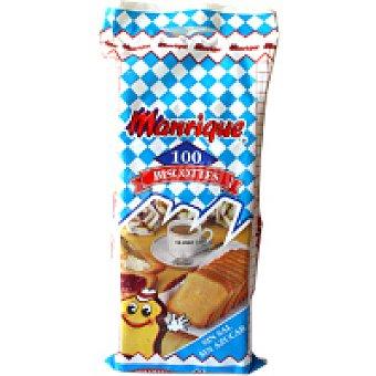 Manrique Biscotte sin sal-sin azúcar Paquete 750 g