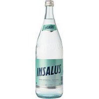 Insalus Agua mineral con gas Botella 1 litro