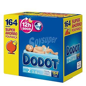 Dodot 3D Dodot 3D Caja SuperAhorro Talla 2 164 unidades
