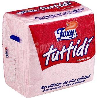 Foxy Servilletas escocesas 1 capa Paquete 80 unid