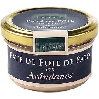 IMPERIA Paté de foie de pato con arándanos Frasco 90 g
