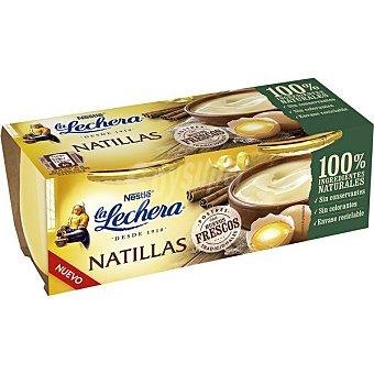 La Lechera Nestlé Natillas Pack 2 unidades 100 g