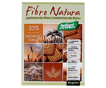 Santiveri Galletas de fibra naturales Caja 420 g