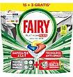 Lavavajillas plus 15 unidades Fairy Platinum