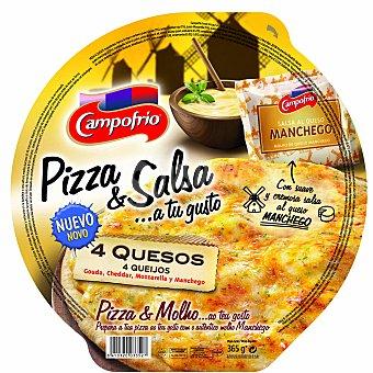 Campofrío Pizza cuatro quesos 360 g