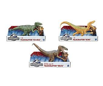 JURASSIC WORLD Figrua Titán Dino Velociraptor surtidos 1 unidad