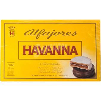 HAVANNA Alfajores mixtos Estuche 285 g