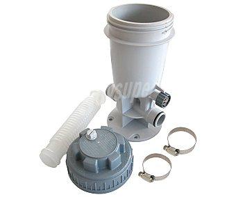 KOKIDO Clorador en línea para 4 pastillas de 75 milímetros o 1 kilo de cloro, especialmente diseñado para piscinas de suelo 1 unidad