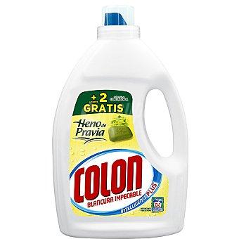 Colón Detergente máquina líquido gel heno de pravia concentrado botella 32 dosis + 2 gratis Botella 32 dosis